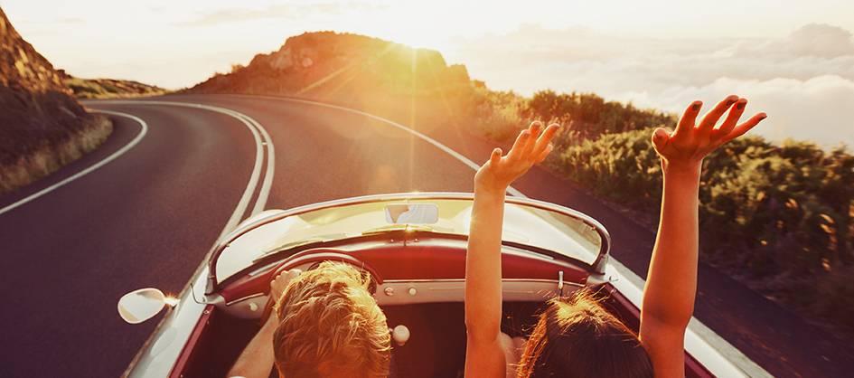 ماشین مورد علاقت رو سوار شو و برو هرجا دوست داری