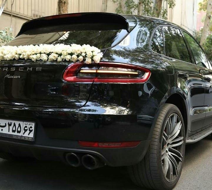 ماشین عروس پورشه